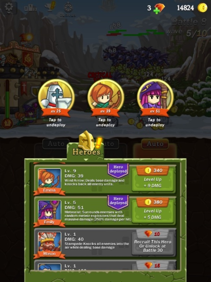 Frontier Defence Heroes  - Review of Frontier Defense by Pine Entertainment