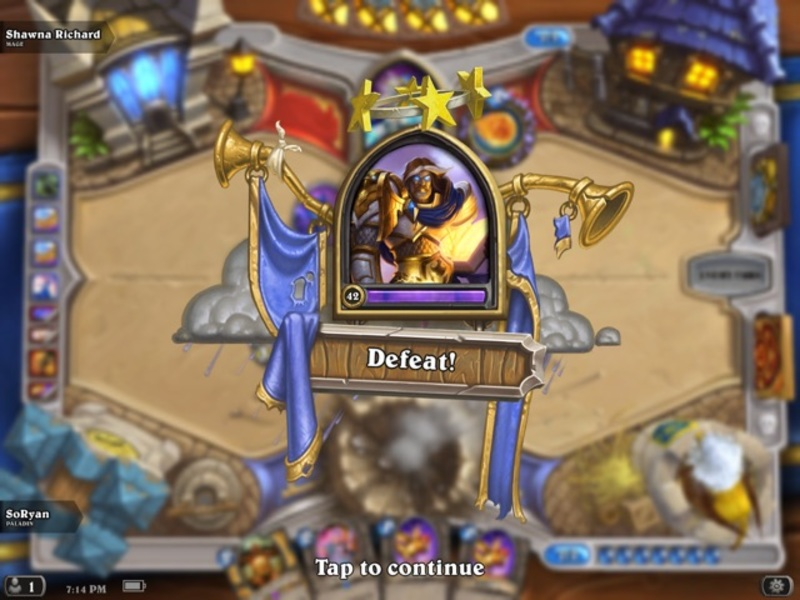 Hearthstone Defeat  - Decks Assemble is Hearthstone's First Real Letdown
