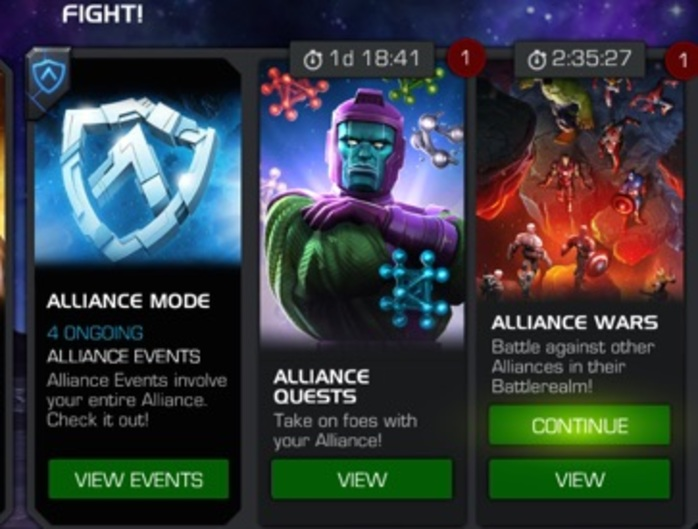 Marvel Contest of Champions Alliance Quest