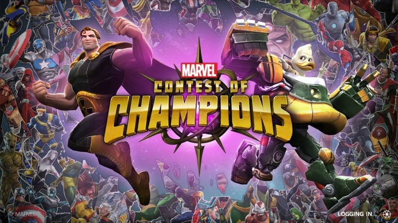 Marvel Contest of Champions Howard the Duck Title Card