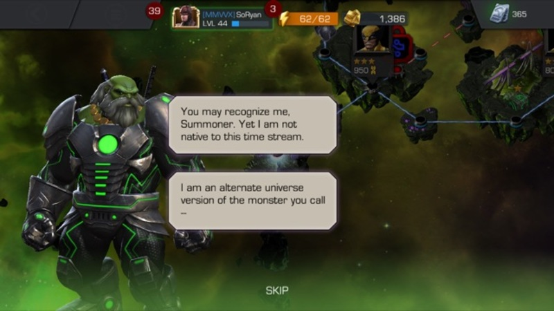 Marvel Contest of Champions Story with Maestro  - Review of Marvel Contest of Champions by Kabam!