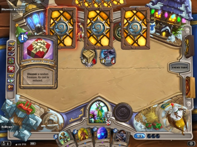 Hearthstone Gift Exchange Tavern Brawl